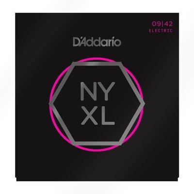 ☆唐尼樂器︵☆美國製公司貨 Daddario NYXL0942 (09-42) Nickel Wound 電吉他套弦