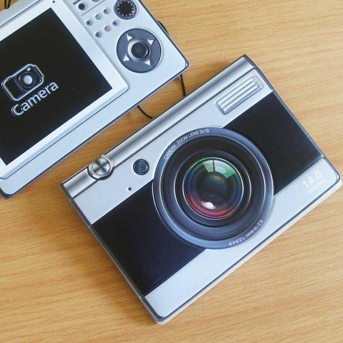 相機造型 護照夾/證件夾 立體紋路材質 (leica,canon,nikon)