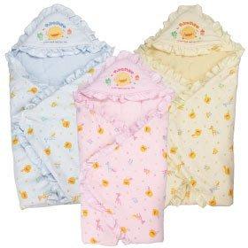瘋狂寶寶***黃色小鴨 冬季包巾(GT-81572)**特價635元