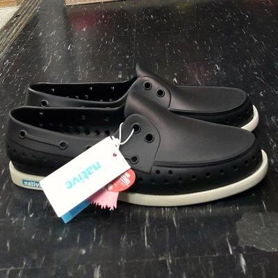 native HOWARD JIFFY BLACK 洞洞鞋 帆船鞋 膠鞋 懶人鞋 黑色 基本款