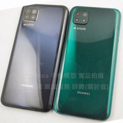 GooMea模型原裝金屬黑屏Huawei 華為Nova 6 SE 6.4吋展示Dummy拍片仿製1:1沒收上繳交差樣品整