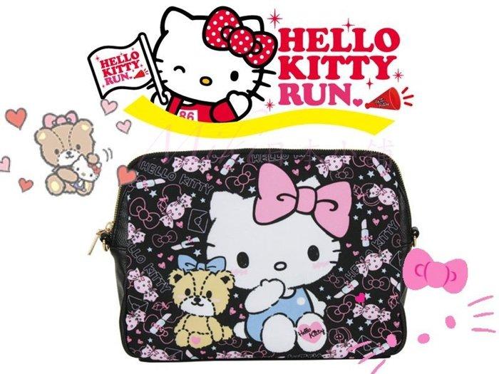 *Miki日本小舖*日本 Hello Kitty x DEARISIMO聯名 二用透明包/肩背包/斜背包
