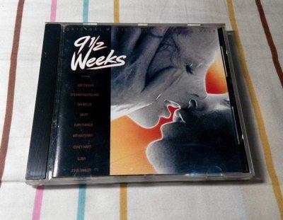 NO273 二手CD 9½ Weeks - Original Motion Picture Soundtrack 可面交