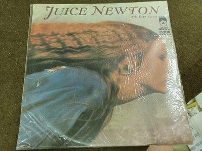 長春舊貨行 佳佳唱片 WELL KEPT SECRET 黑膠唱片 茱絲絲·牛頓 佳佳唱片 1981年  (Z24)