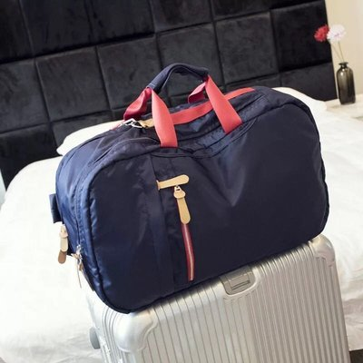 韓ithinkso現貨3way大容量行李包尼龍防潑水電腦後背手提斜背包