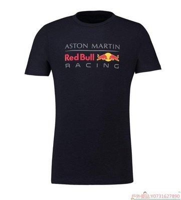 【戶外優品】19新賽季 Red Bull 紅牛 F1車隊賽車服 圓領短袖T恤 汽車衣服