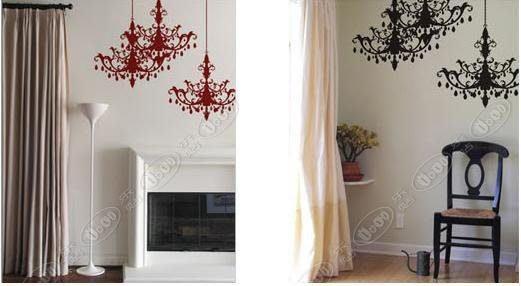小妮子的家@水晶吊燈壁貼/玻璃貼/家具貼