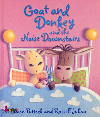 [邦森外文書] Goat and Donkey and the Noise Downstairs 精裝本