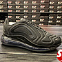 S.G NIKE AIR MAX 720 TRIPLE BLACK MESH 全黑 黑武士 慢跑鞋 Ao2924-015