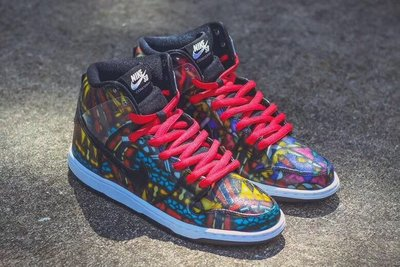 "Concepts x Nike SB Dunk High ""Stained Glass"""