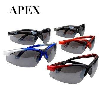 《APEX》型號908-專業運動型太陽眼鏡 偏光運動太陽眼鏡/防眩光墨鏡/抗UV/過濾紫外線及強光/寶麗來偏光鏡片