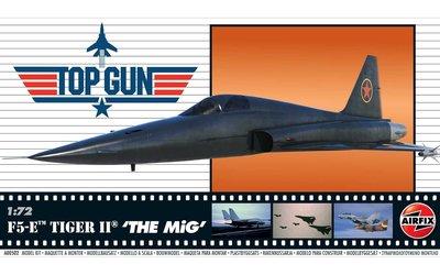 Airfix # A00502 1/72 Top Gun F5-E Tiger II THE MiG