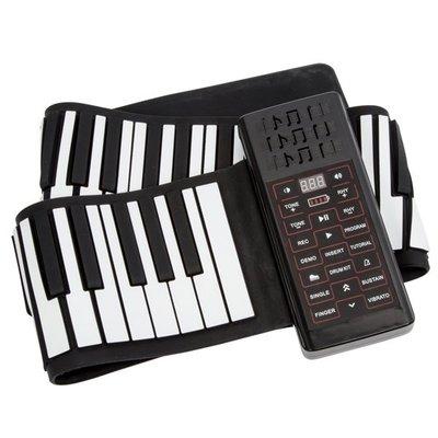 傳揚 攜帶型88鍵高音質手捲電子琴 (...