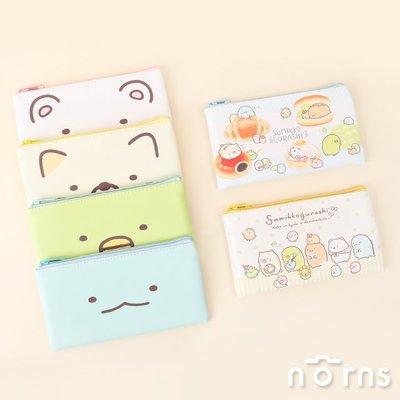 日貨皮質方型筆袋 角落生物v2- Norns 日本正版 收納袋 鉛筆盒