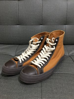 訂製1940s 復古帆布球鞋 真皮 尺寸10.5 Timeworn