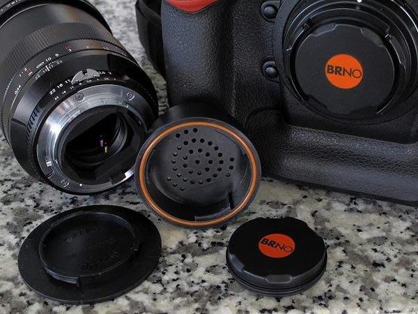 美國 BRNO Dri+Cap 防潮除濕蓋組 (乾燥 機身蓋+ 乾燥 鏡頭後蓋) for nikon / canon
