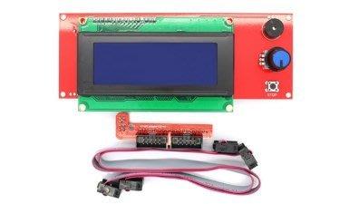 3D列印機Ramps1.4 2004LCD Discount Smart Controller顯示屏