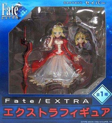 日本正版 景品 Fate/EXTRA EX 紅Saber 尼祿 模型 公仔 日本代購