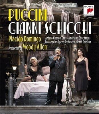 【藍光BD】普契尼:歌劇《強尼史基基》/ 多明哥 Plácido Domingo---88985315099