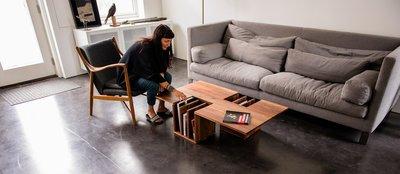 【品傢俱】近原裝 EhoEho One Two│造型茶几 矮桌 和室桌│另有B&B,Poliform,Minotti