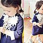 *韓風寶貝*Q094韓國女童立體花朵全棉洋裝 女...