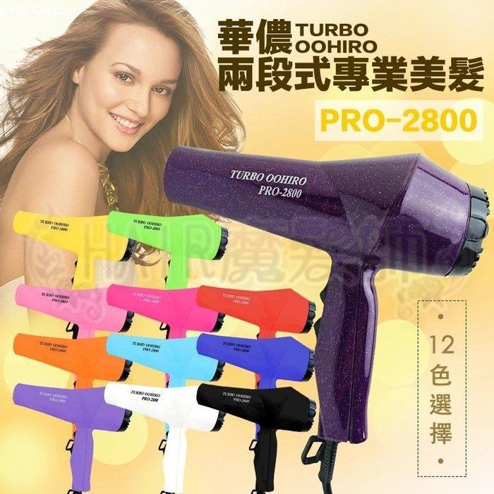 (現貨特價)華儂 TURBO PRO-2800 兩段式 輕型 吹風機 美髮 沙龍 暢銷口碑款 專業用 *HAIR魔髮師*
