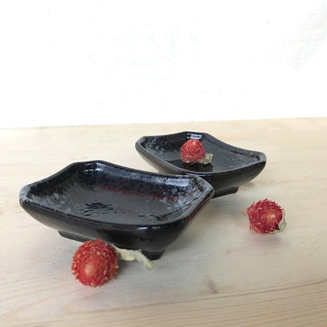 ~佐和陶瓷餐具~【7024黑彩小碟】/ 開店 餐廳  小菜碟 醬料碟 /