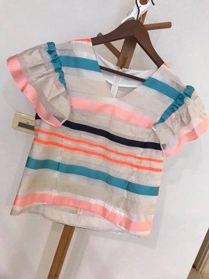 日本貴婦品牌Chesty 粉藍上衣