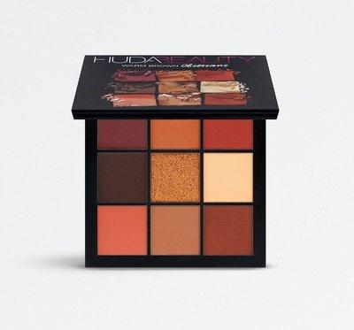 杜拜 HUDA BEAUTY Warm Brown Obsessions Palette 9色眼影盤(預購)