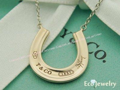 《Eco-jewelry》【Tiffany&Co】經典新款 RUBEDO馬蹄項鍊 純銀925項鍊~專櫃真品已送洗