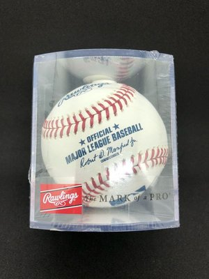 美國大聯盟官方比賽用球 最新款 禮物首選