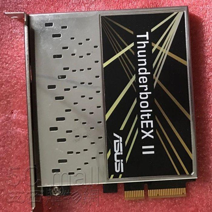 5Cgo【權宇】ASUS ThunderboltEX II 擴充卡支援兩個迅雷 20Gb/s PCI-E 2.0x4含稅