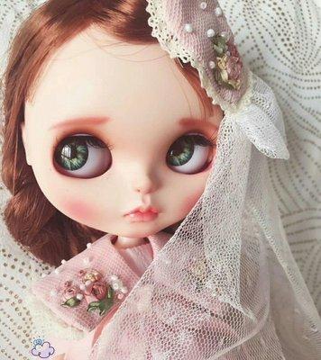 【改妝】Blythe小布 碧麗絲 手工彩繪 小布娃娃 大頭娃娃 芭比娃娃 洋娃娃 玩具 模型 公仔