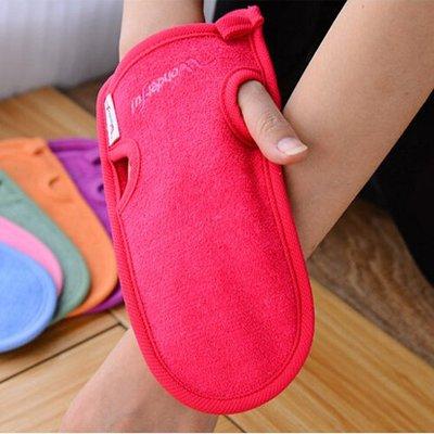 【團狠大】韓國神奇免搓澡巾 淋浴澡巾 竹纖維洗澡手套