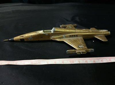 *阿柱的店*早期 國軍 F-5E Tiger II 5286 鋁製 飛機模型