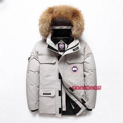 《運動風》搶先發佈Canada goose 大鵝羽絨服男士短款 2020新款冬季大碼工裝加厚情侶爆款棉外套 91781
