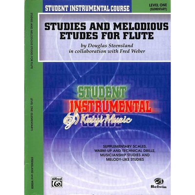 Kaiyi Music ♫Kaiyi Music♫Studies and Melodious Etudes for Flute, Level I
