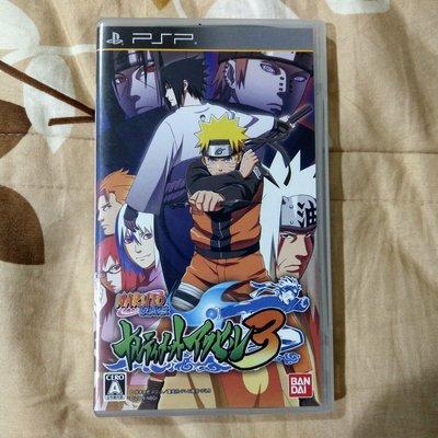 PSP 火影忍者 疾風傳 終極覺醒 3 (純日版)編號330