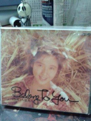 酒井法子小貓隊同期RIBBON玉女三浦理惠子專輯BELONG TO YOU日版 有側標 頗新