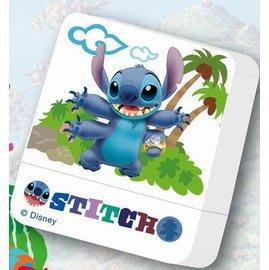 熊爸印&貼 迪士尼 史迪奇 印章 方塊章卡通印章 姓名印章連續印章 玩具