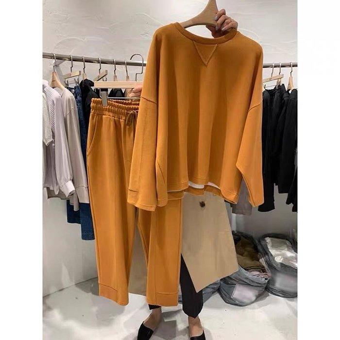 【2A Two】4色 棉質休閒套裝⌒上衣+褲子 寬鬆好舒適『BB00484』