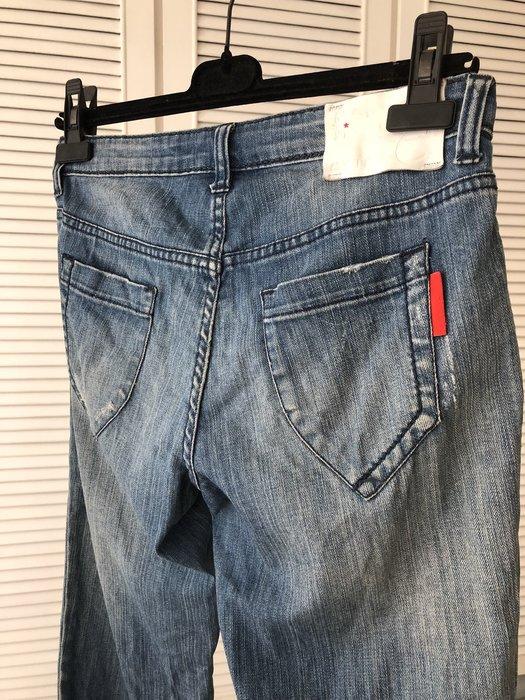 EXTE 藍色牛仔褲
