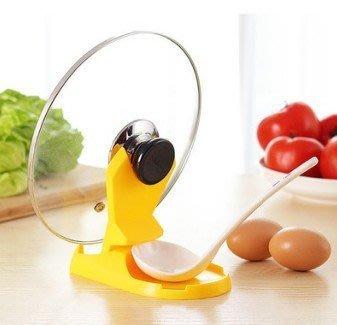 多功能摺疊鍋蓋架/湯勺架 廚房工具(隨...