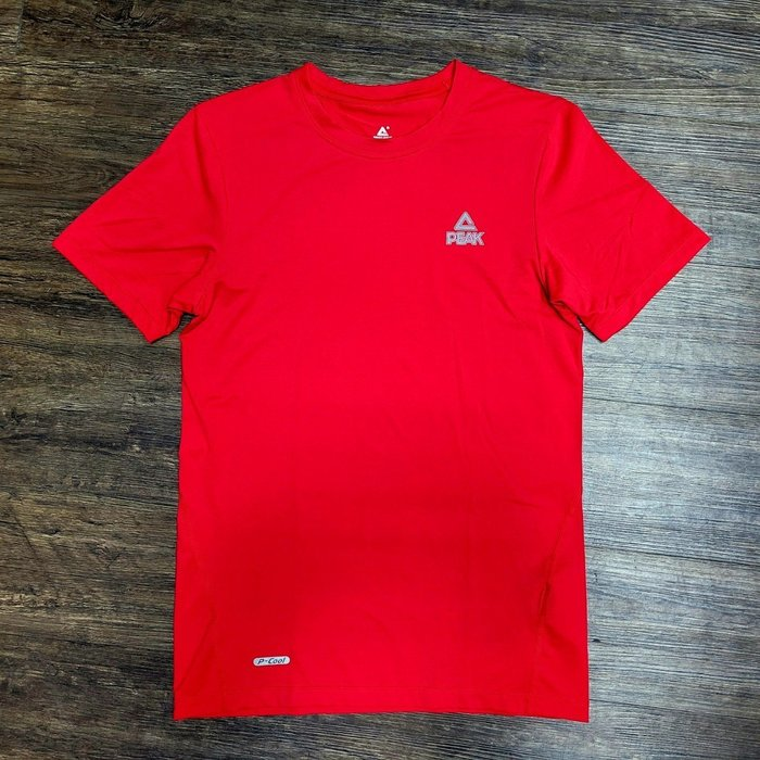 PEAK 專業機能緊身T恤 紅