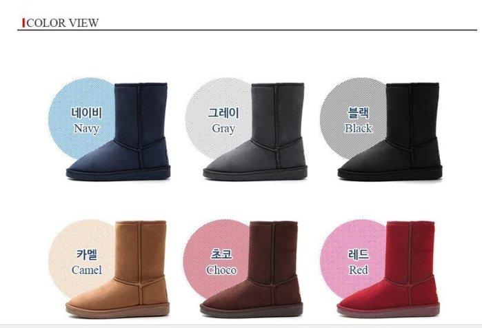 『※妳好,可愛※』 韓國雪靴~正韓國製Ollie中筒雪靴親子雪靴 雪地靴 貓掌 貓爪 布標 仿麂皮 中筒靴