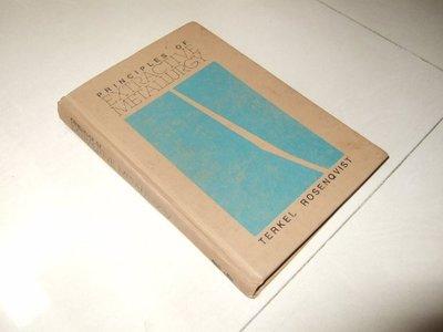 古集二手書A ~EXTRACTIVE METALLURGY Terkel Rosenqvist
