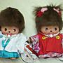 *凱西小舖*日本進口正版夢奇奇BEBI MONCHHICHI和服系列玩偶**2選1