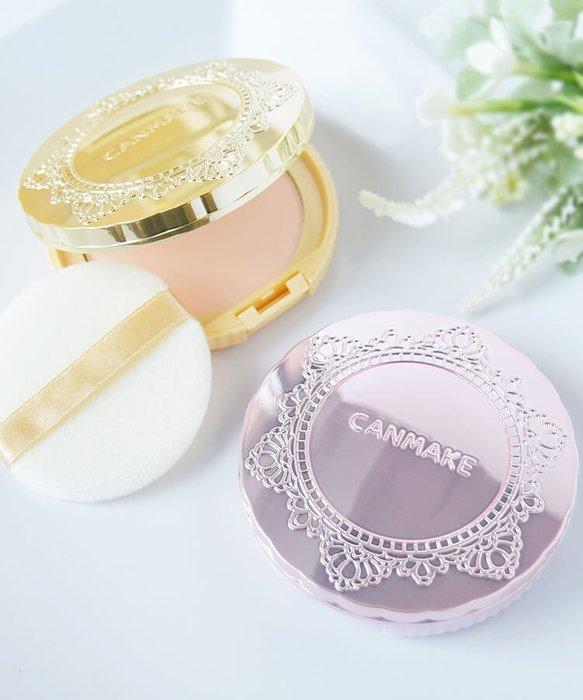 現貨 ◎日本◎ Canmake 棉花糖蜜粉餅 Transparent Finish Powder 全3色