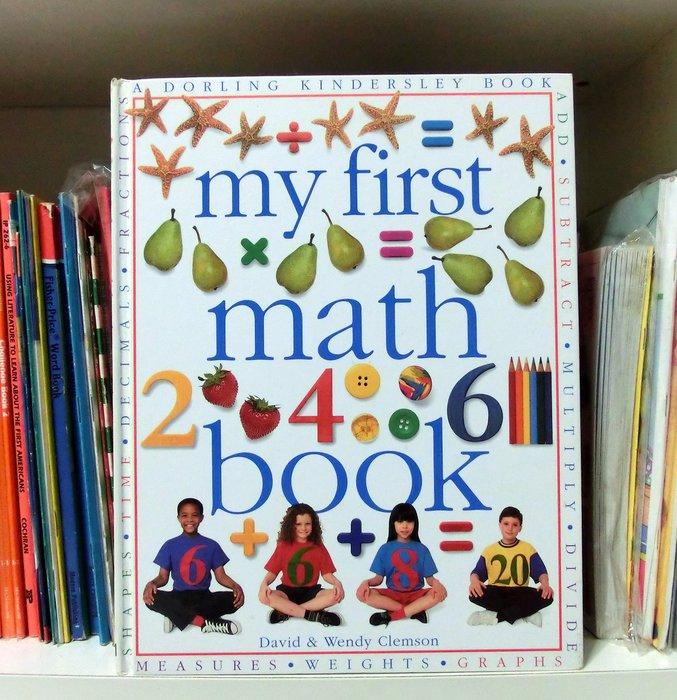 *【兒童英語繪本】*小pen~~my first Math book (大書)