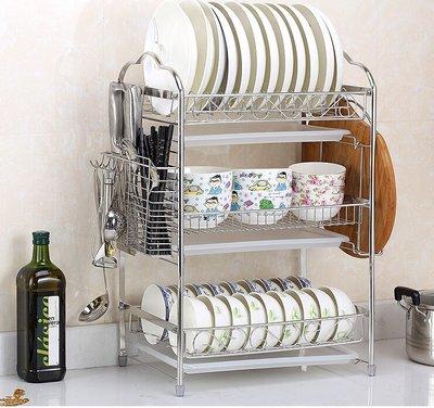 304不鏽鋼碗架瀝水碗碟架 廚房置物架...